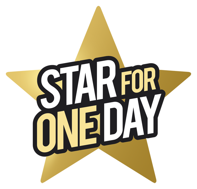 Logo Star for One Day_simulato light