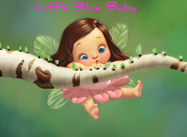 blog little blue baby